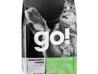 Корм GO! Sensitivity + Shine Trout+Salmon Cat Recipe, Grain Free